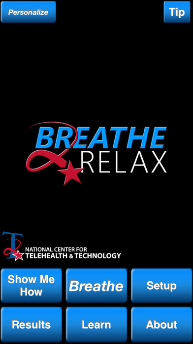 Breath to Relax App Screenshot 1