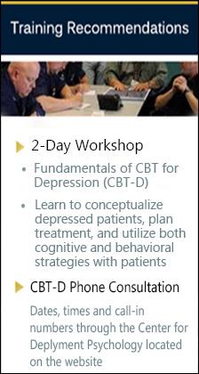 Cognitive Behavioral Therapy for Depression (CBT-D) | Center