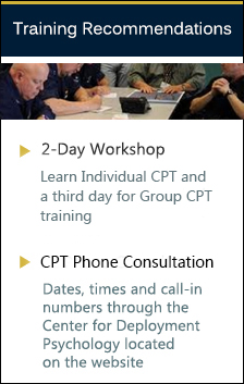 CPT Training Recommendations