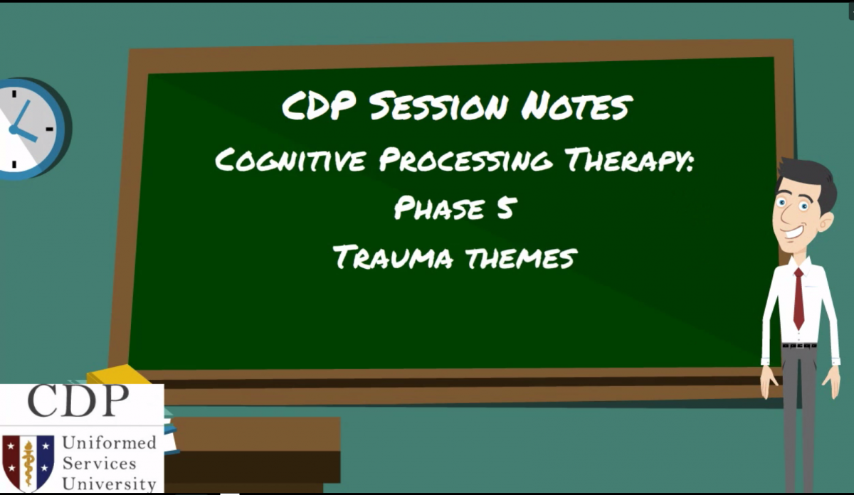 CPT Session Notes Phase 5: Trauma Themes