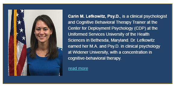 Carin Lefkowitz , Psy.D.