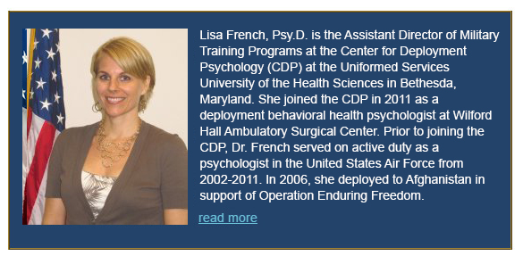 Lisa French, Psy.D. Bio