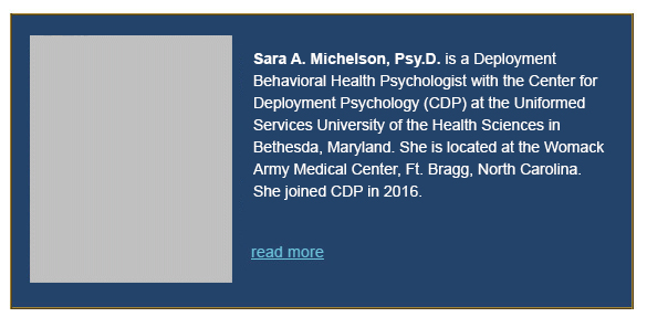 Sara Michelson , Psy.D.