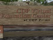 CDP Virtual Education Center Marquee
