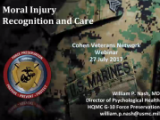 Moral Injury Recognition and Care Title Card