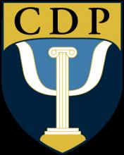 CDP shield logo