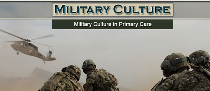 Military Culture for Primary Care Providers